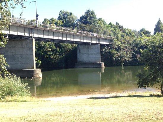 Astra Motor Lodge: Waikato River, 2nd last day