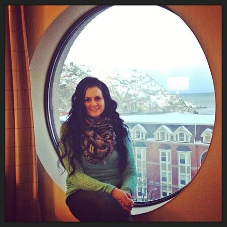 Sheraton Hotel Newfoundland : Porthole room view