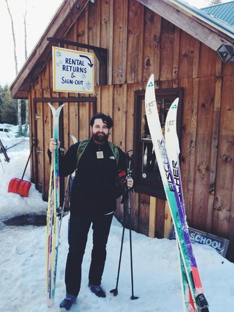 Mountain Trail Cross Country Ski Center: rental equipment