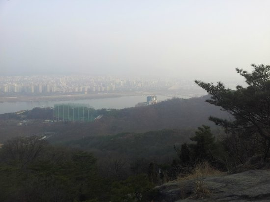 Achasan Mountain: Han river view