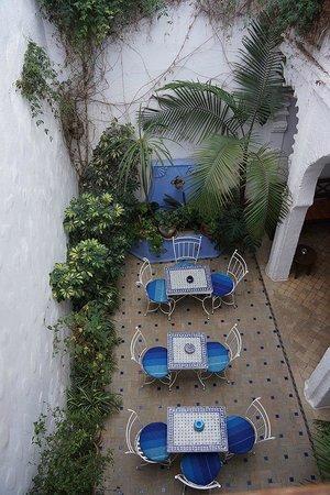 Casa Perleta : Courtyard