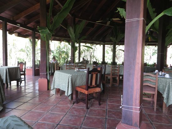 Hotel Borinquen Mountain Resort : Restaurant