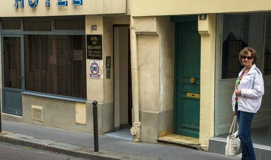 Hotel Des Boulevards : Наш отель в Париже