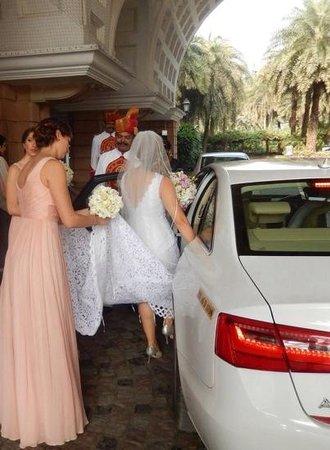 ITC Maratha, Mumbai: ITC Maratha transportation to wedding