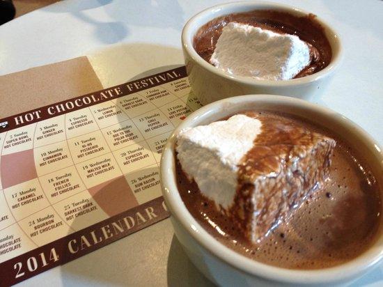 City Bakery : Hot chocolate