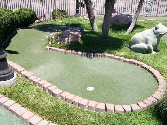 Adelaide Inn: Putting Green