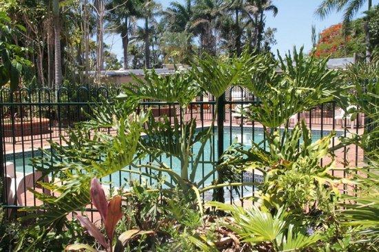 Country Comfort Bundaberg: Outside Pool
