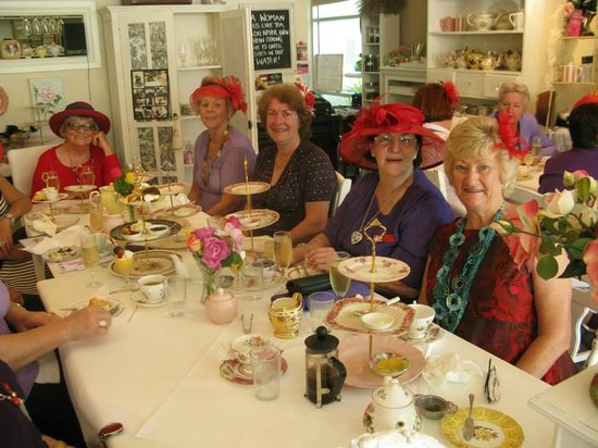 The Rose Room: Red Hatter Society
