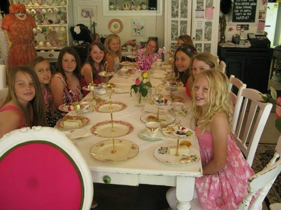 The Rose Room: Junior High Tea Party