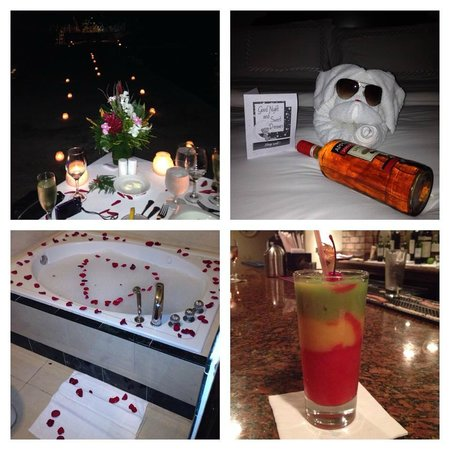 Sandals Royal Plantation: Candlelight Dinner, Talented Butlers, and a Bob Marley from the Bar!  (Yummy)