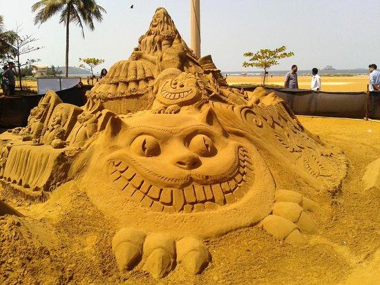 Panaji, Índia: sand srt