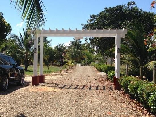 Miramar Apartments: entrance garden to Miramar