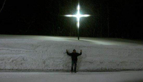 Abuta-gun, Ιαπωνία: It knows how to snow here!