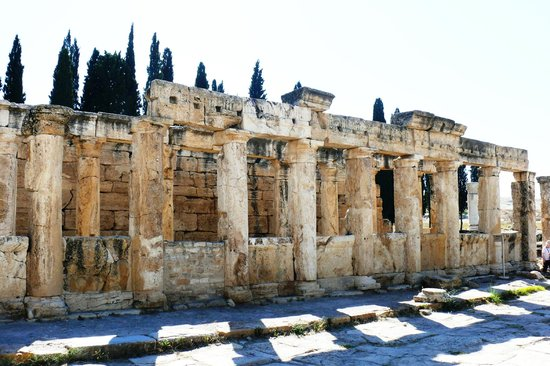 Hierapolis & Pamukkale: Иераполис и Памуккале