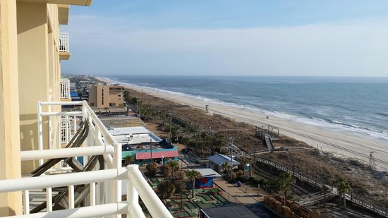 Courtyard by Marriott Carolina Beach: Great weather in Feb!