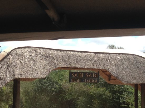 Sabi Sabi Bush Lodge: Entrance to Sabi Sabi