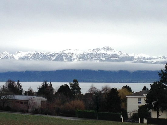 Starling Hotel Lausanne : view from Room # 2215