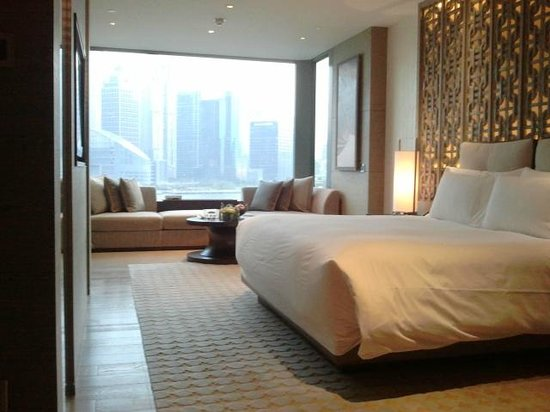 Banyan Tree Shanghai On The Bund: my room from entrance