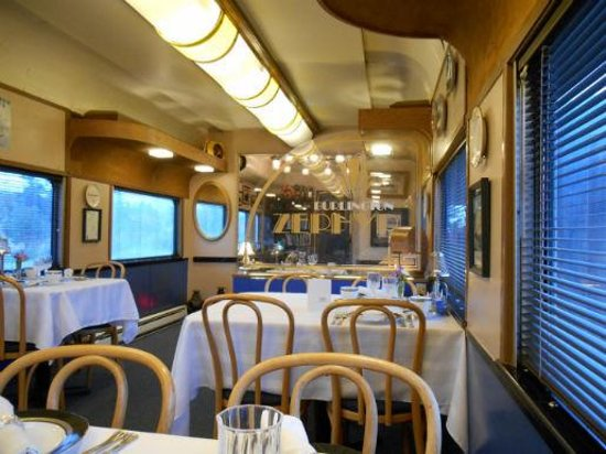 Red Caboose Getaway: Dining Car