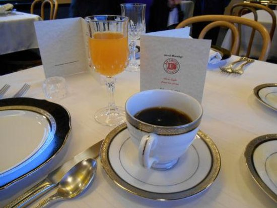 Red Caboose Getaway: Beautiful China and Menu