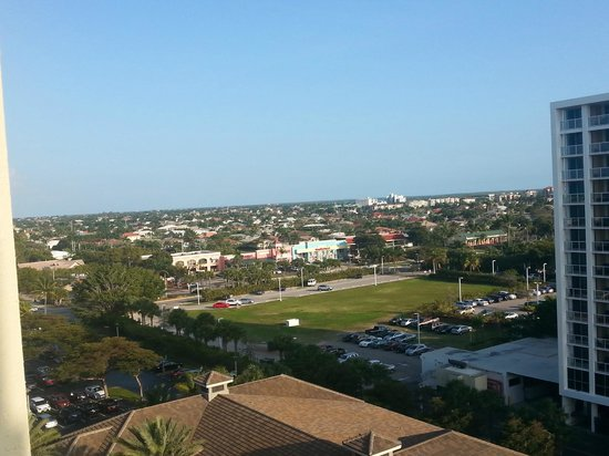 Hilton Marco Island Beach Resort--CLOSED FOR RENOVATIONS; REOPENING DEC. 1, 2017: View of the island from the balcony