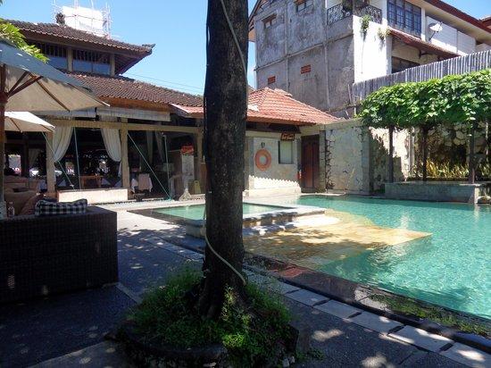 Adi Dharma Cottages : Pool