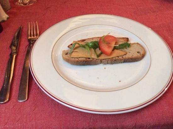 Au Petit Sud Ouest : The last piece of foie gras