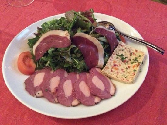 Au Petit Sud Ouest : l'assiette fraicheur