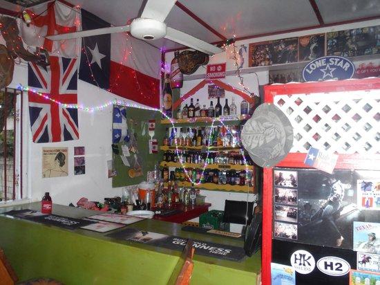 Jacko and Jennys Restaurant: bar area