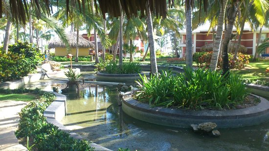 Grand Palladium Bavaro Suites Resort & Spa : pequeña laguna