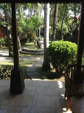 Ida Hotel: garden view