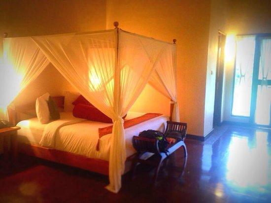 Junjungan Ubud Hotel and Spa : 部屋