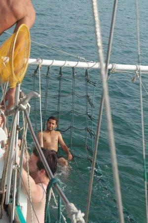 Crystal Yacht: Jacuzzi