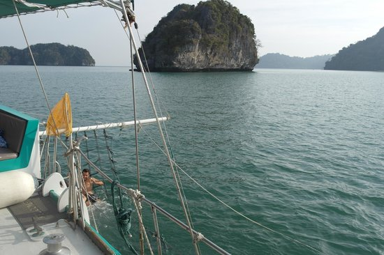 Crystal Yacht: View