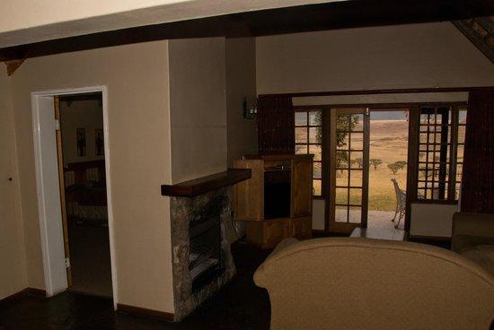 Hlalanathi Drakensberg Resort: Living room
