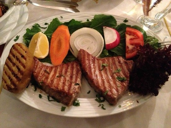 Sultanahmet Fish House : Grilled tuna