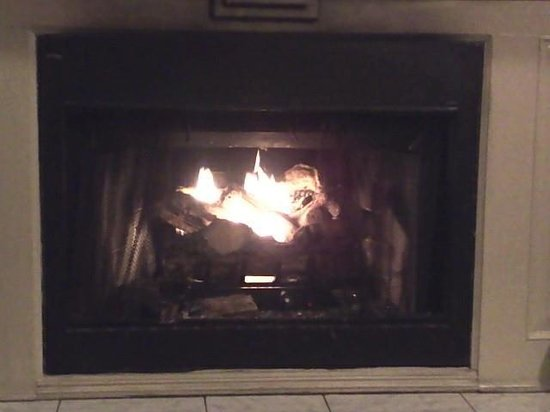 Forrest Hills Mountain Resort and Conference Center: Ending the day with a nice warm fire.