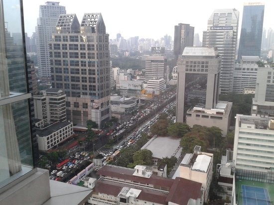 Sathorn Vista, Bangkok - Marriott Executive Apartments: View from my room