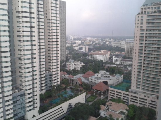 Sathorn Vista, Bangkok - Marriott Executive Apartments: View from my parents room