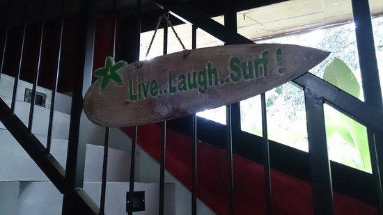 Indika's House & Tours: Indika loves surfing!