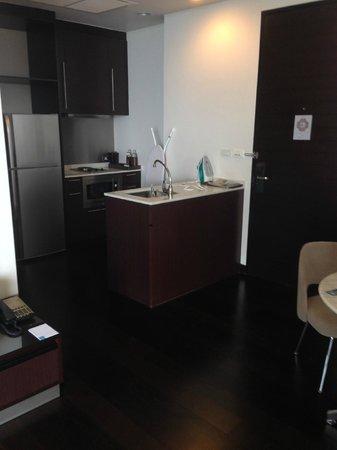 Chatrium Hotel Riverside Bangkok: kitchen