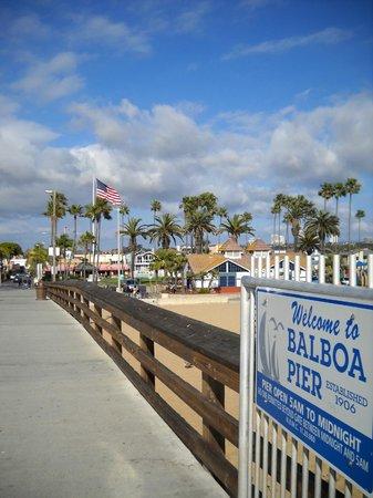 Balboa Island Pier Newport Beach