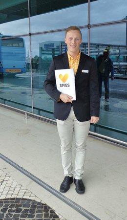 Dorisol Mimosa: Chris - en dygtig guide i ny uniform