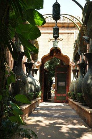 The Baray Villa: enterance