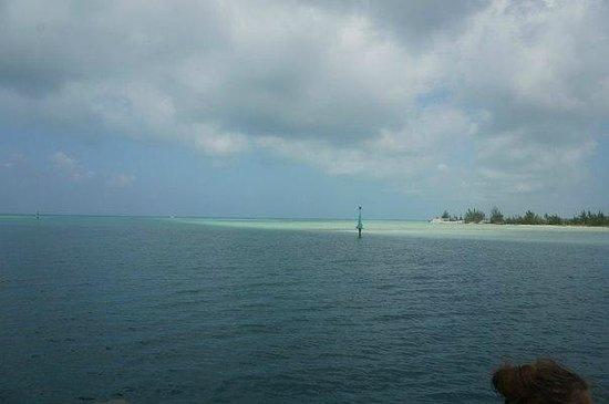 Sirena Beach : Вид с яхты