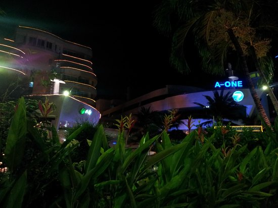 A-One The Royal Cruise Hotel: Вечерняя иллюминация
