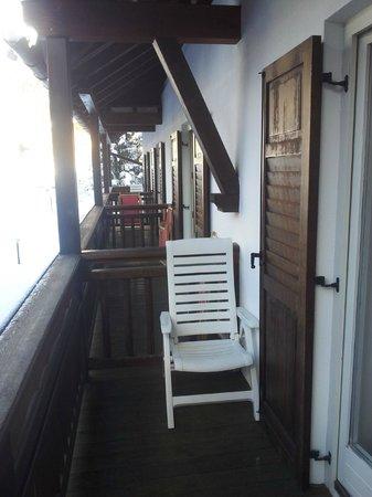 Hotel Medil Campitello: Балкон