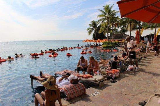 Sheraton Waikiki: Infinity pool very popular