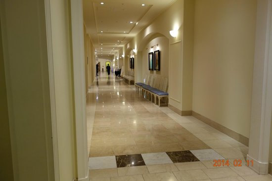Hotel Nikko Huis Ten Bosch: 大浴場用エレベーター前