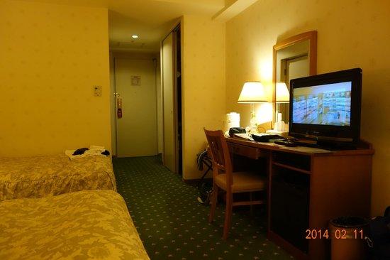Hotel Nikko Huis Ten Bosch: 宿泊室